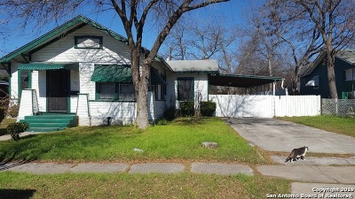 San Antonio Single Family Home For Sale: 307 Montrose St