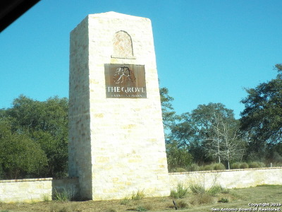 Comal County Residential Lots & Land For Sale: 1356 Bordeaux Ln