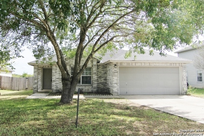 New Braunfels Single Family Home Active Option: 1238 Stone Branch