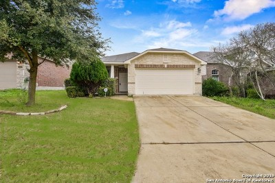 Bexar County Single Family Home Active Option: 14023 Caprese Hill