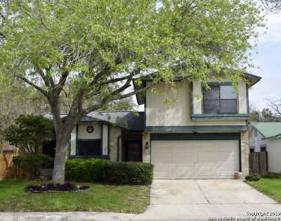 San Antonio Single Family Home For Sale: 11050 Almond Park