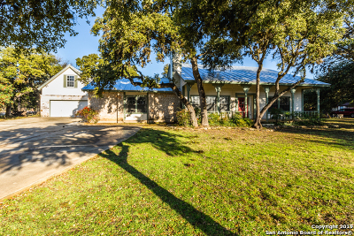 Boerne Single Family Home Active Option: 9535 Autumn Wind