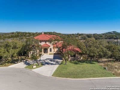 San Antonio Single Family Home For Sale: 23614 Messina Canyon