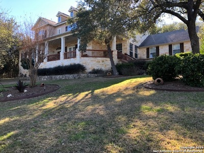 Spring Branch Single Family Home For Sale: 2410 River Way