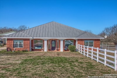 Wilson County Single Family Home Active Option: 2859 County Road 357