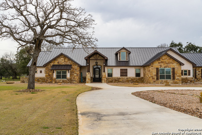 Guadalupe County Single Family Home For Sale: 15122 Fm 775