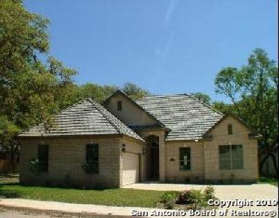 Castle Hills Single Family Home Active Option: 10 Shady Cove