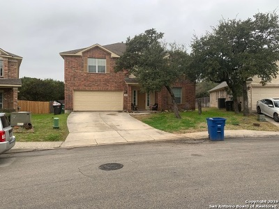 Helotes Single Family Home Active Option: 8838 Brocken Forest