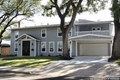 Alamo Heights Single Family Home For Sale: 110 Brightwood Pl