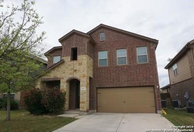 Single Family Home For Sale: 8407 Loska Green