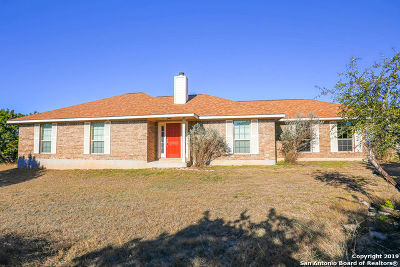 Bandera County Single Family Home For Sale: 1456 Bear Springs Trail