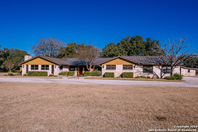 Boerne Single Family Home For Sale: 30 Cascade Caverns Rd
