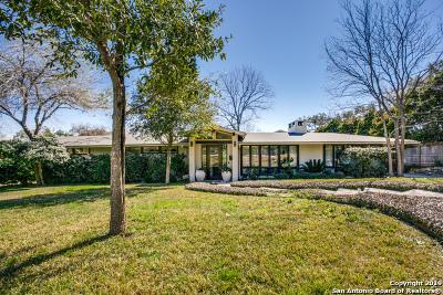 San Antonio Single Family Home For Sale: 224 Wyanoke Dr