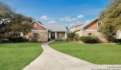 Hondo Single Family Home Price Change: 142 County Road 4325