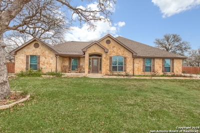La Vernia TX Single Family Home Active Option: $389,900