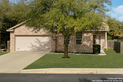 Helotes Single Family Home Active Option: 9731 Lindrith