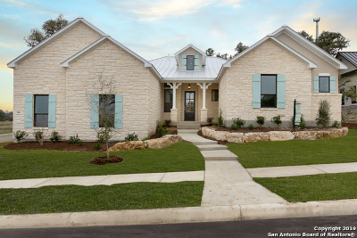 Boerne Single Family Home Price Change: 106 Chama Dr