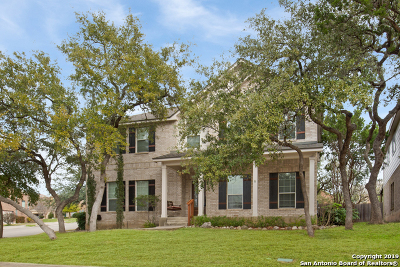 Helotes Single Family Home Active Option: 15626 Portales Pass