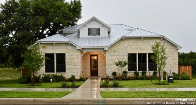 Boerne Single Family Home Price Change: 115 Chama Dr