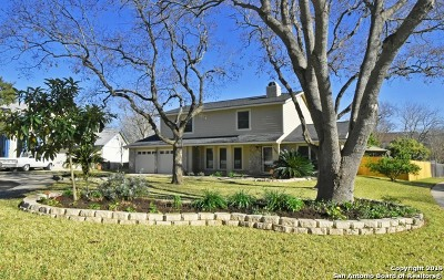 San Antonio Single Family Home Active Option: 15402 Forest Peak