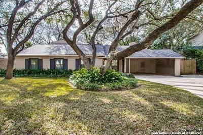 San Antonio Single Family Home For Sale: 2626 Friar Tuck Rd