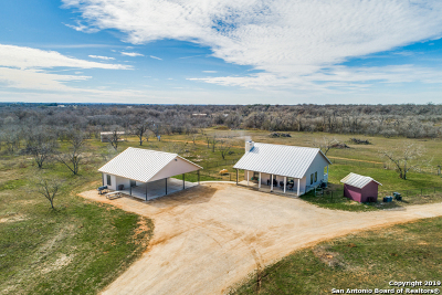 Guadalupe County Farm & Ranch For Sale: 4717 Jakes Colony Rd