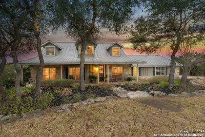 Helotes Single Family Home Active Option: 15826 San Cayetano