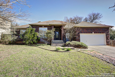 San Antonio Single Family Home Price Change: 17106 Sugar Crest Dr