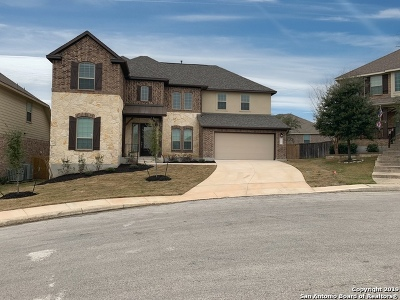 San Antonio Single Family Home Price Change: 24331 Vinca Reef