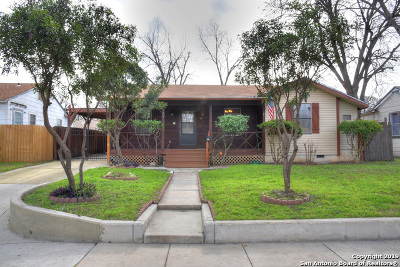 San Antonio Single Family Home Active Option: 106 Rollins Ave