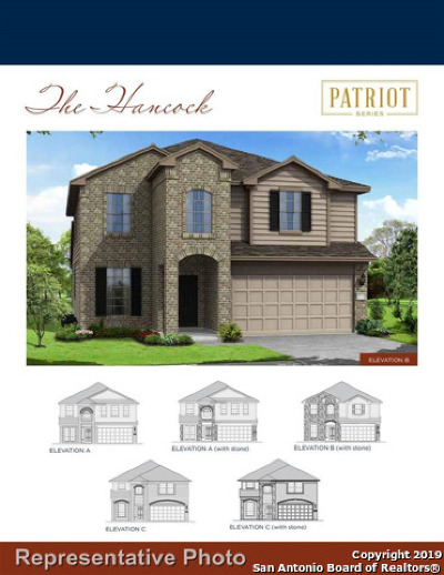 Schertz Single Family Home Back on Market: 12356 Belfort Pt