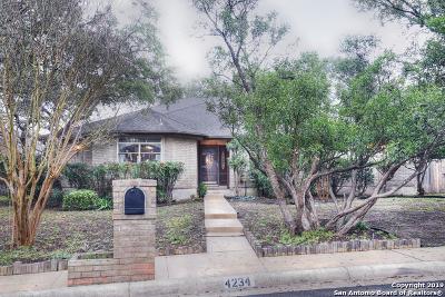 San Antonio Single Family Home Active Option: 4234 Shadow Elm Woods