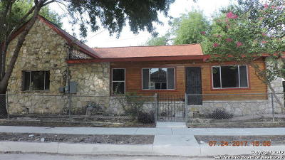 Single Family Home For Sale: 320 Riddle St