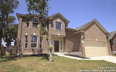 Helotes Single Family Home For Sale: 8919 Saxon Forest