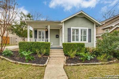 Alamo Heights Single Family Home For Sale: 536 Argo Ave