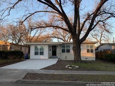 San Antonio Single Family Home Back on Market: 303 Adrian Dr