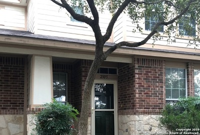 San Antonio Single Family Home Active Option: 2505 Grayson Circle