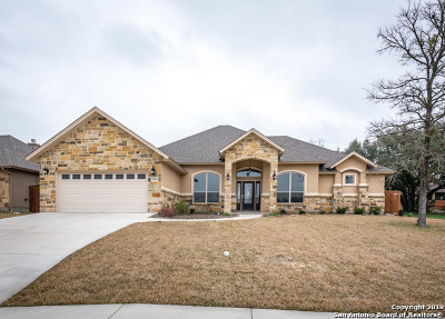 Seguin Single Family Home New: 1229 Meadow Breeze