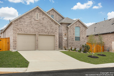 Boerne Single Family Home New: 9811 Monken