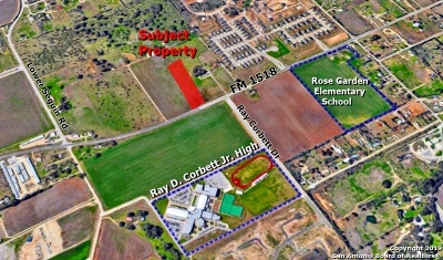Schertz Residential Lots & Land For Sale: 10105 E Fm 1518