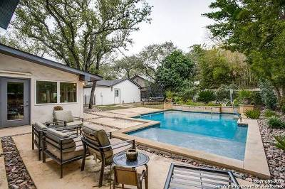 Alamo Heights Single Family Home For Sale: 125 Cardinal Ave