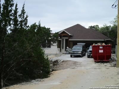 Canyon Lake Single Family Home New: 504 Flaman Rd