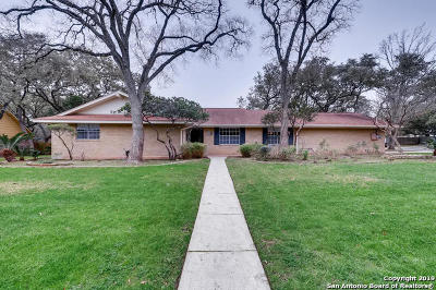 San Antonio Single Family Home For Sale: 316 Sagecrest Dr