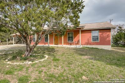 Canyon Lake Single Family Home Active Option: 1100 Canyon Trace
