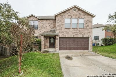 San Antonio Single Family Home Price Change: 10703 Amble Coach
