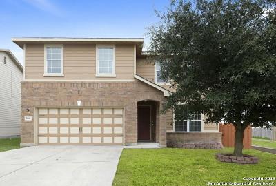 Converse Single Family Home New: 7406 Copper Cliff