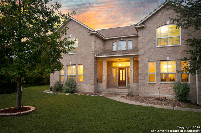 Helotes Single Family Home Active Option: 13031 Adobe Walls Dr