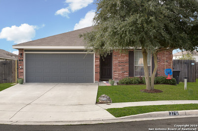 New Braunfels Single Family Home Back on Market: 376 Solitaire Path