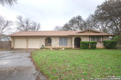 San Antonio Single Family Home Active Option: 1742 Brogan Dr