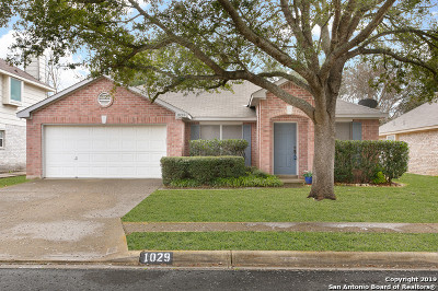 Schertz Single Family Home Price Change: 1029 Linden Grove Dr